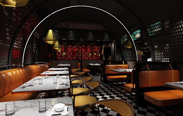 佛山渔歌餐饮空间设计案例