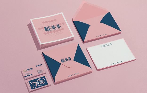 川婆婆餐饮VI品牌设计案例