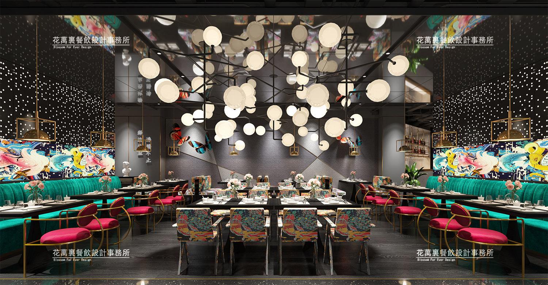 秦皇岛沸腾鱼乡餐饮空间设计案例赏析