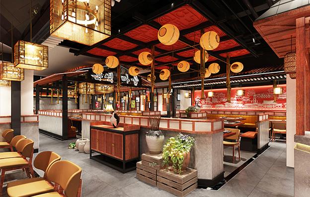 天津绿色庄园餐饮空间设计案例赏析