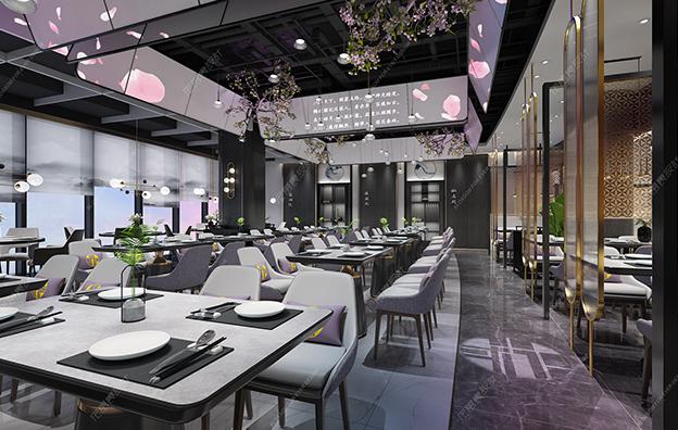 深圳梨花春雨餐饮空间设计案例