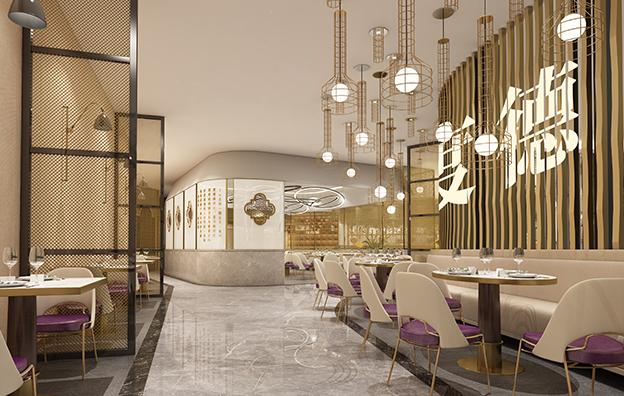 广东度度德江门店餐饮空间设计案例