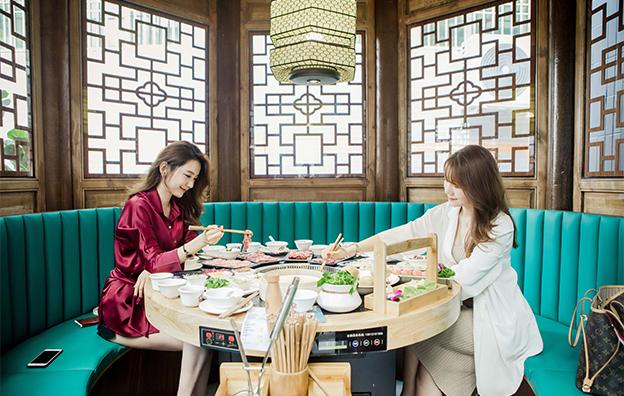 阿彬牛肉火锅餐饮空间设计案例