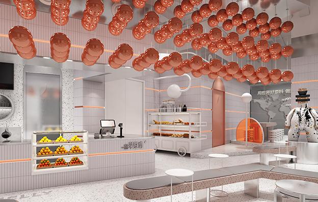 深圳茶豆坊餐饮空间设计案例