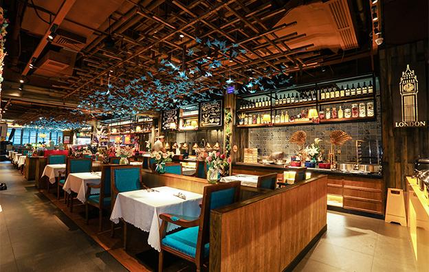 深圳领鲜餐饮空间设计