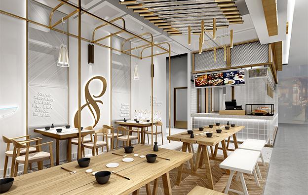 八号街角餐饮空间设计