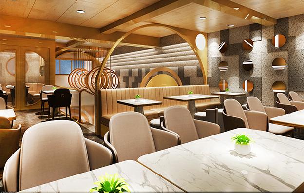 日鹅夜鹅餐饮空间设计