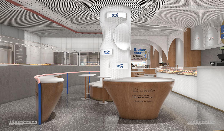 包焙儿餐饮空间设计案例赏析