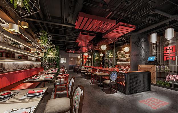 四两川菜餐饮全案设计案例