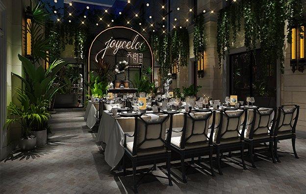 上海乔榭里餐饮全案策划设计案例鉴赏
