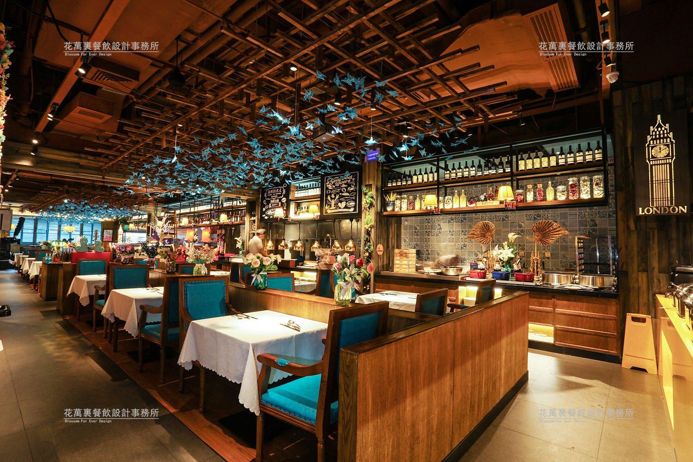 领鲜餐饮空间设计案例赏析