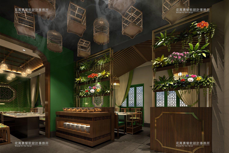 阿彬牛肉火锅牌坊店餐饮空间设计案例赏析