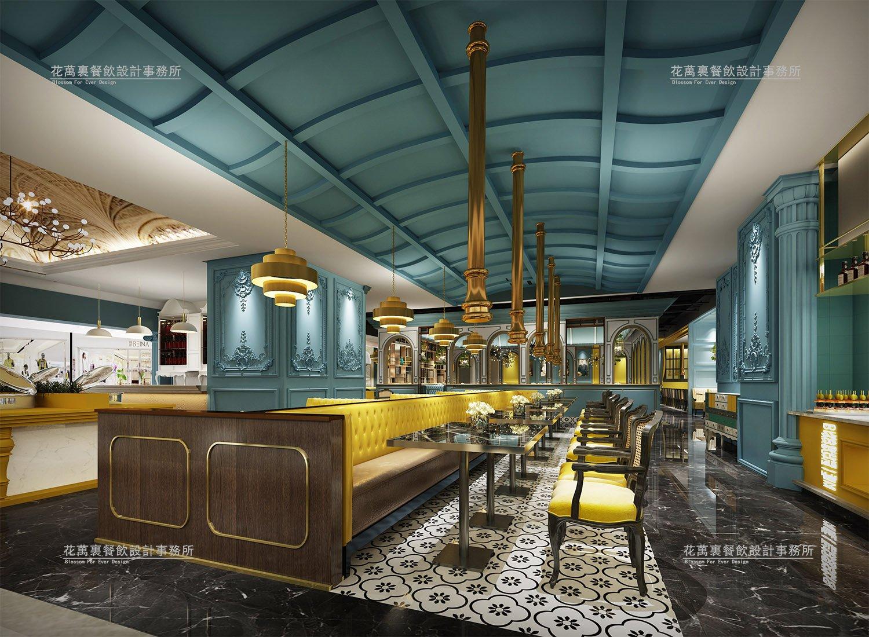 美浮宫天虹商场店餐厅空间设计案例