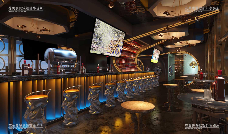 伦敦古德府得地标型餐饮与餐吧设计案例赏析